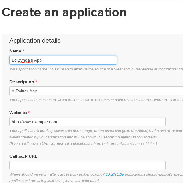 Create your app
